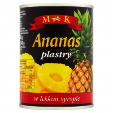 ANANASY PLASTRY .565G M&K