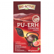Big-Active Sp. z o.o. HERBATA CZERWONA GREJPFRUT PU-ERH 100G BIG-ACTIVE
