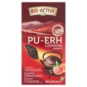 Big-Active Sp. z o.o. HERBATA CZERWONA GREJPFRUT PU-ERH 100G BIG-ACTIVE