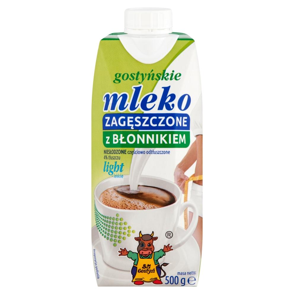 Spółdzielnia Mleczarska w Gostyniu MLEKO ZAGĘSZCZONE 500G GOSTYŃ Z BŁONNIKIEM
