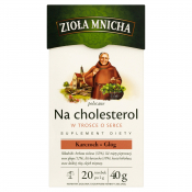 Big-Active Sp. z o.o. HERBATA NA CHOLESTEROL 40G BIC ACTIVE
