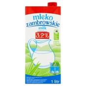 Mlekpol Sp. z o.o. MLEKO UHT 3,2% 1L ZAMBROWSKIE