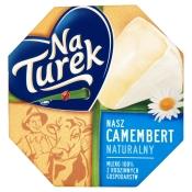Mleczarnia Turek Sp. z o.o. SEREK CAMEMBERT NATURALNY 120G TUREK