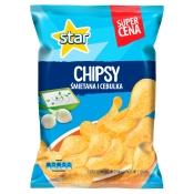 Frito Lay Poland Sp. z o.o. STAR CHIPSY ŚMIETANA Z CEBULĄ 130G