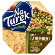 Mleczarnia Turek Sp. z o.o. SEREK CAMEMBERT Z PIEPRZEM 120G TUREK