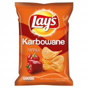 Frito Lay Poland Sp. z o.o. LAYS KARBOWANE PAPRYKA 140G