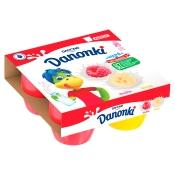 Danone SA SEREK DANONKI MALINA BANAN 4X90G DANONE