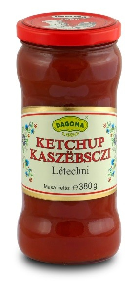 Dagoma  Sp. z o.o. KETCHUP KASZUBSKI LETECHNI 380G DAGOMA