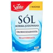 Sante A. Kowalski Sp. j. SÓL MORSKA Z MAGNEZEM 350G SANTE