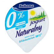 Bakoma Sp. z o. o. JOGURT NATURA 0% 150G BAKOMA