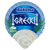 Bakoma Sp. z o. o. JOGURT NATURALNY GRECKI 180G BAKOMA