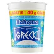 Bakoma Sp. z o. o. JOGURT NATURALNY GRECKI 400G BAKOMA