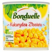 Bonduelle Polska S.A. KUKURYDZA ZŁOCISTA 340G BONDUELLE