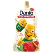 Danone SA SEREK DANIO SASZETKA 140G TRUSKAWKA DANONE