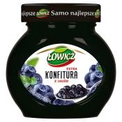 Agros-Nova Sp. z o.o. Sp. k. KONFITURA Z JAGÓD 240G ŁOWICZ