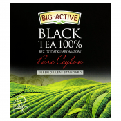 Big-Active Sp. z o.o. HERBATA BLACK 100% 100X2G BIG-ACTIVE