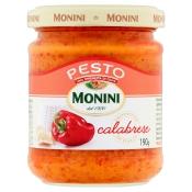 MONINI POLSKA Sp. z o.o. PESTO CALABRESE 190G MONINI