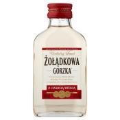 Stock Polska Sp. z o.o. WÓDKA ŻOŁĄDKOWA GORZKA Z CZARNĄ WIŚNIĄ 0,1L