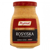 Prymat Sp. z o.o. PRYMAT MUSZTARDA ROSYJSKA 185G