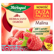 HERBATA  MALINOWA 108G T40 HERBAPOL
