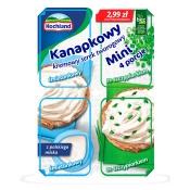 Hochland Polska Sp. z o.o. SEREK KANAPKOWY MINI ZE SZCZYPIORKIEM 4*30G
