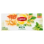 Unilever HERBATA MIĘTA Z CYTRUSAMI 20T LIPTON