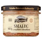 SMALEC Z MIĘSKIEM I SKWARKAMI 190G RUSIECKI