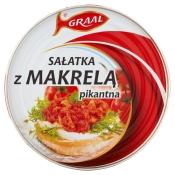 GRAAL S.A. GRAAL SAŁATKA Z MAKRELI 300G