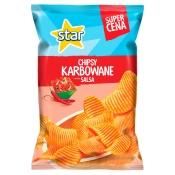 Frito Lay Poland Sp. z o.o. STAR CHIPSY KARBOWANE SALSA/KEBAB 130G
