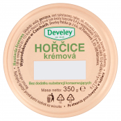 Develey Polska sp. z o.o. MUSZTARDA HORCICE KREMOWA 350G DEVELEY