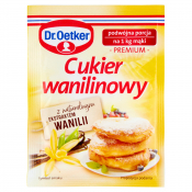 Dr. Oetker Polska Sp. z o.o. CUKIER WAN.16G DR.OETKER