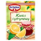 Dr. Oetker Polska Sp. z o.o. KWASEK CYTRYNOWY 20G DR.OETKER