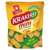 The Lorenz Bahlsen Snack-World Sp. z o.o. KRAKERSY MINI SER-CEBULKA 100G LORENZ