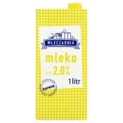 Mlekpol Sp. z o.o. MLEKO UHT 2%  MLECZARNIA  1L