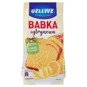 FoodCare Sp. z o. o. CIASTO BABKA CYTRYNOWA 375G GELLWE