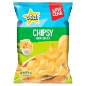 Frito Lay Poland Sp. z o.o. STAR CHIPSY SER CEBULA 130G