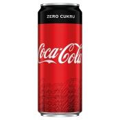The Coca-Cola Company NAPÓJ COCA COLA ZERO 0,33L P