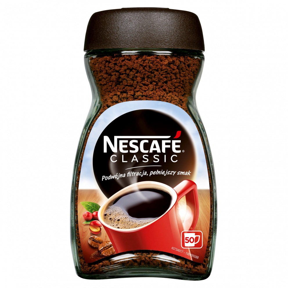 Nestlé Polska S.A. KAWA NESCAFE CLASSIC 100G