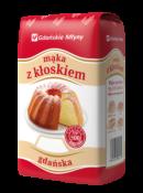 Gdańskie Młyny - Sp. z o.o. MĄKA GDAŃSKA 1KG GDAŃSKIE MŁYNY