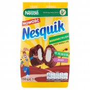 PŁATKI NESQUIK BANANA WILDCRUSH 150G PACIFIC
