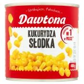 DAWTONA SP. Z O.O. KUKURYDZA KONSERWOWA 400G DAWTONA
