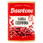 Dagoma  Sp. z o.o. FASOLA CZERWONA KONSERWOWA 400G DAWTONA